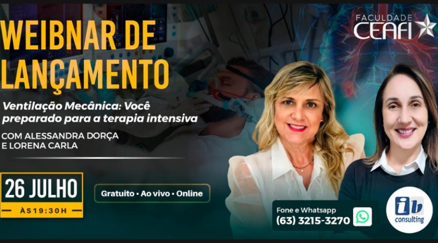 CEAFI em parceria com IB Consulting promove Webinar de Ventilação Mecânica na terapia intensiva